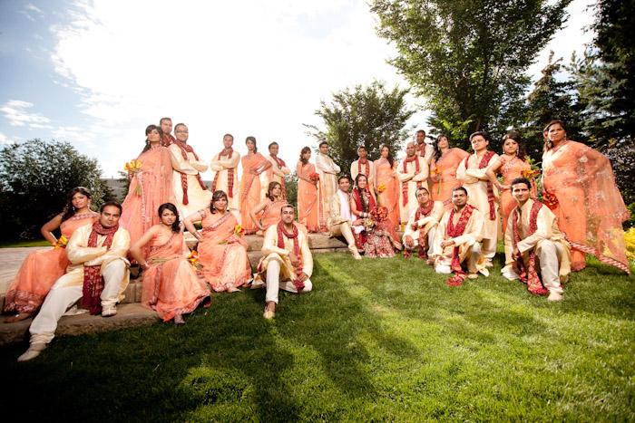 Nightanddayphotoca Blog 11 AanchalRajW Never Understood These Large Bridal Parties